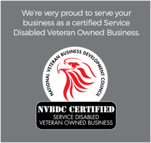 We're very proud to serve your
